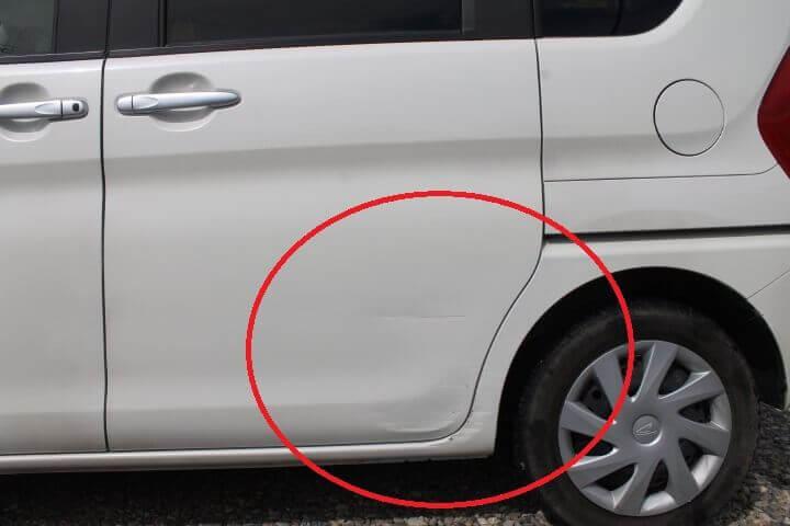 L610タント車両保険修理